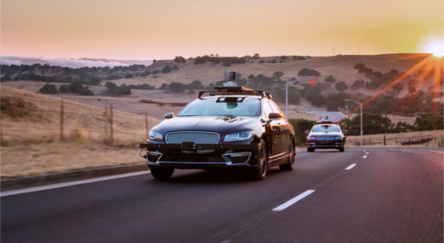 Aurora self driving cars